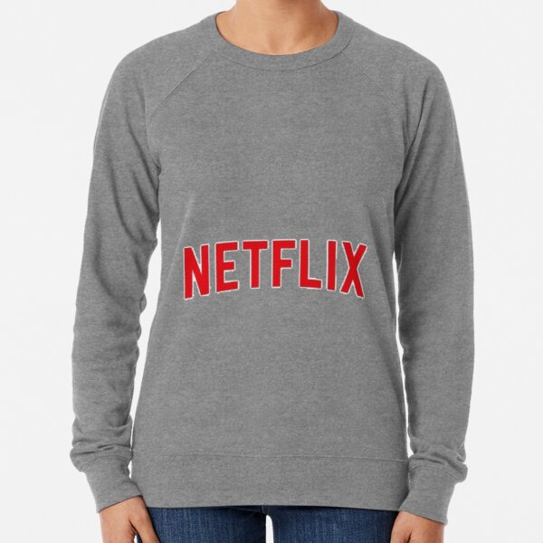 Netflix logo  Lightweight Sweatshirt