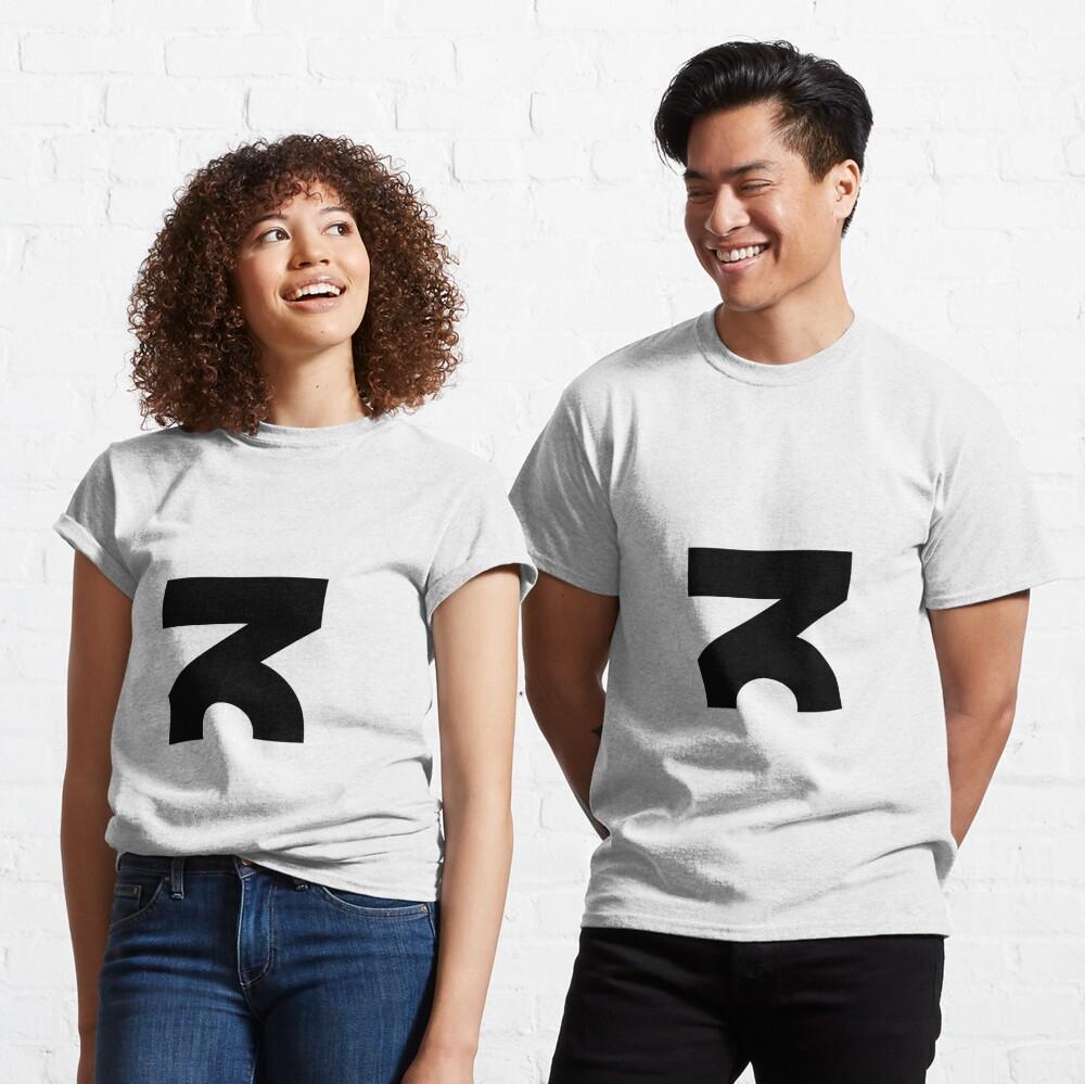 Medium ZOiD Black Logo  Classic T-Shirt