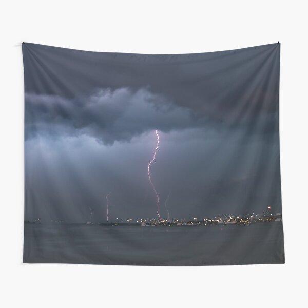 Lightning storm Tapestry