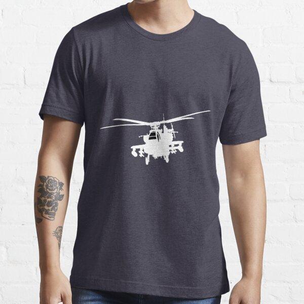 AH-64 APACHE BRITISH ARMY PRINTED T-SHIRT