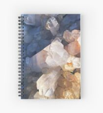 Quartz Crystal Spiral Notebook