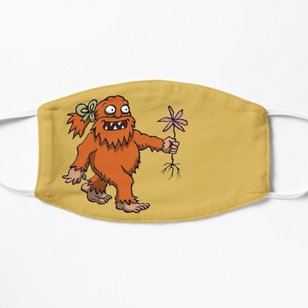 Handsome Yowie has a Flower Flat Mask