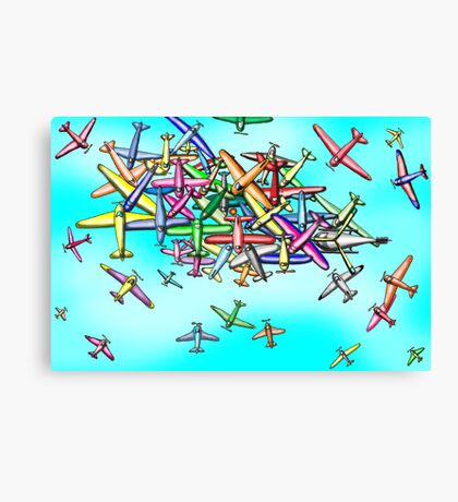 Aviation reporting point Canvas Print