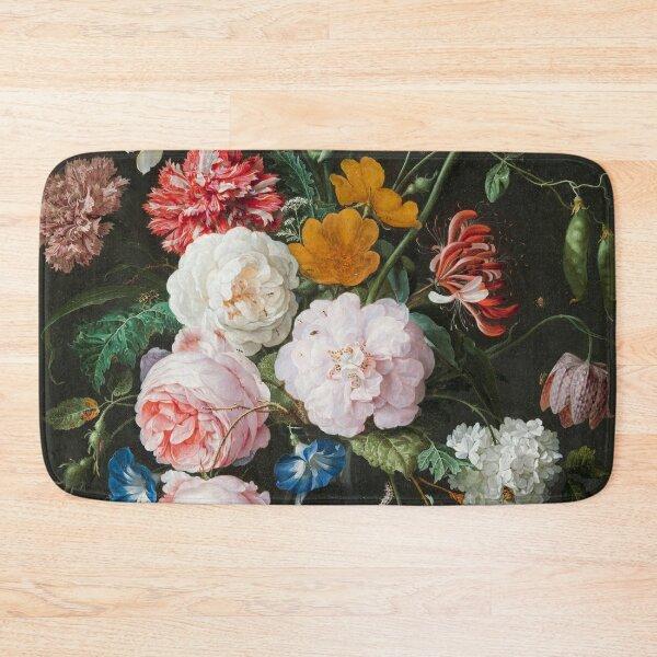 Dutch Golden Age Floral Painting Bath Mat