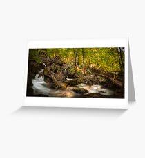 The Waterfalls at Myrafalle in Austria Greeting Card