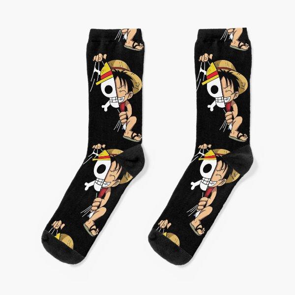 Monkey B Luffy Socks