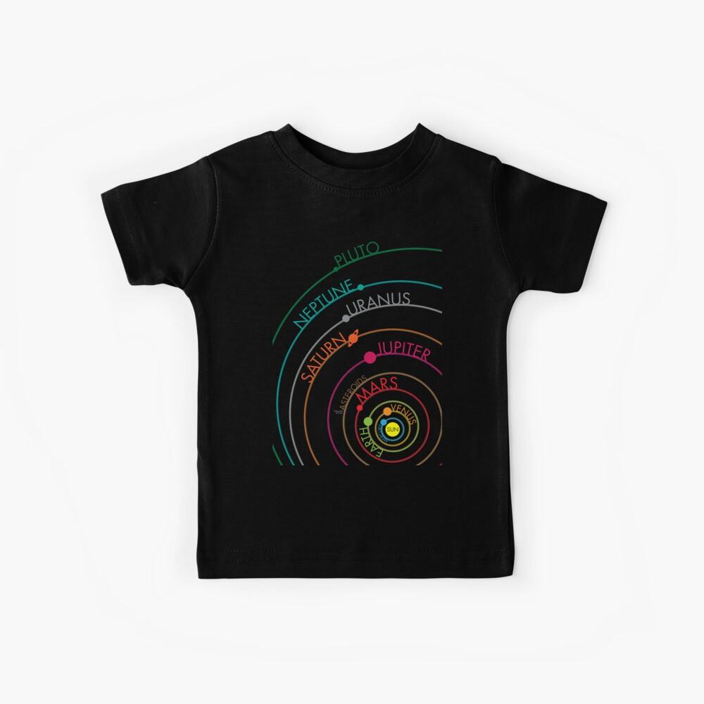 Sistema solar Camiseta para niños