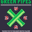 Green Pipes by Azafran