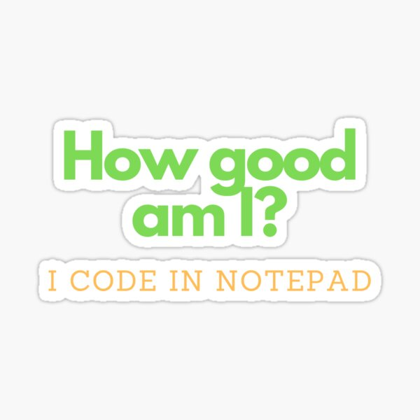 I'm the best developer Sticker