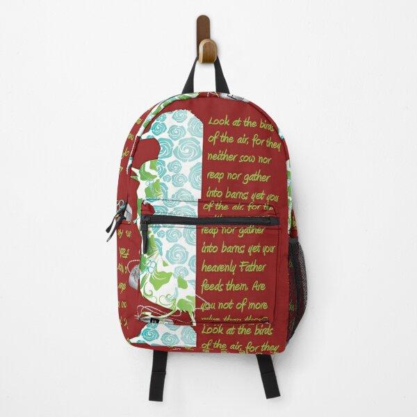 Birds of the Air, Matthew 6:26 Backpack