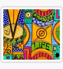 Living a VIBRANT Life Sticker