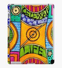 Living a VIBRANT Life iPad Case/Skin