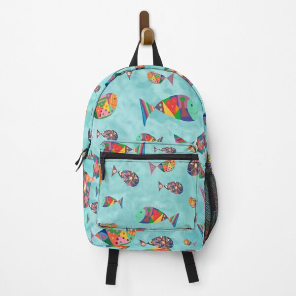 Happy Fish by Sophie Backpack