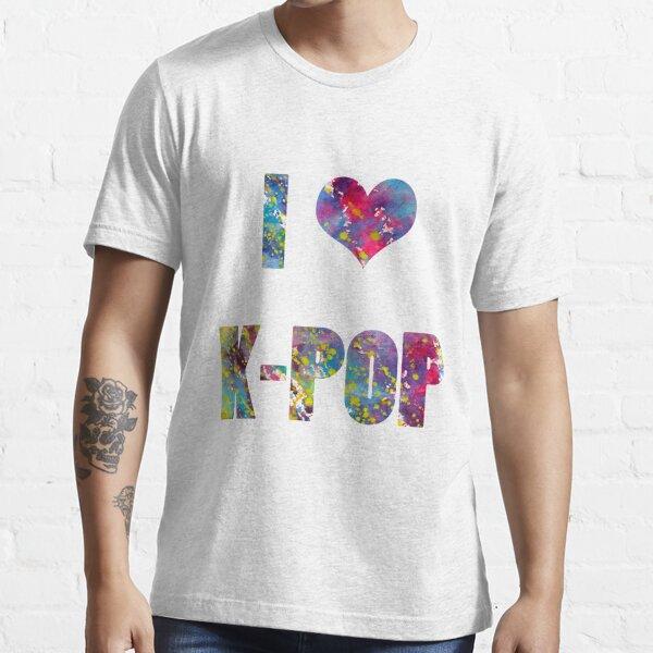 I LOVE K-POP Essential T-Shirt