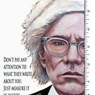 Advice from Warhol by Tom Roderick