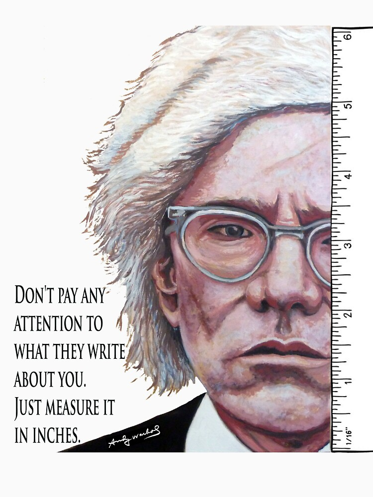Advice from Warhol by donnaroderick
