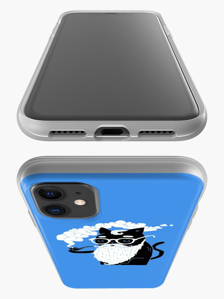 Alternate view of Whiskers And Pipe iPhone Case & Cover