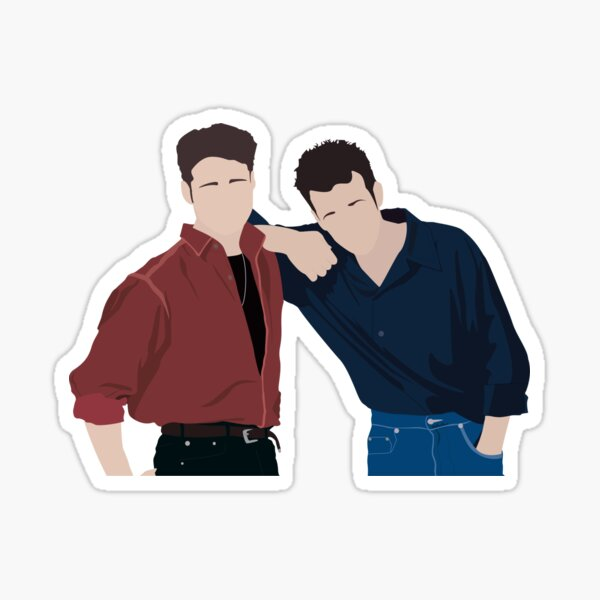 Brandon Walsh Stickers Redbubble