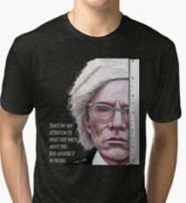 Advice from Warhol Tri-blend T-Shirt