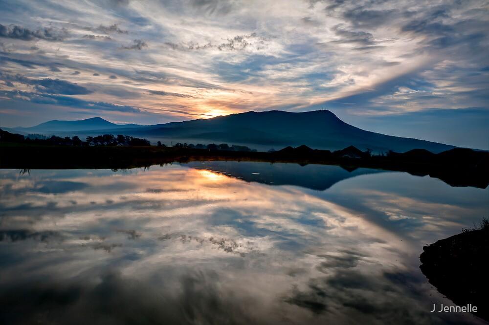 Mount Massanutten July Sunrise by Joe Jennelle
