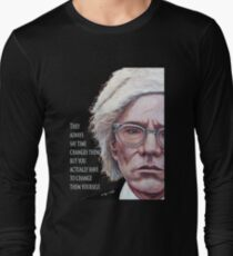 A. Warhol Long Sleeve T-Shirt