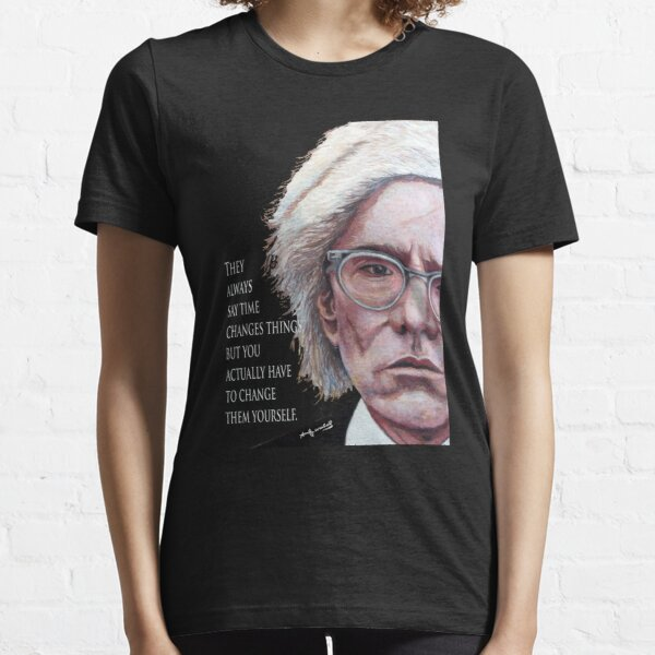 A. Warhol Essential T-Shirt