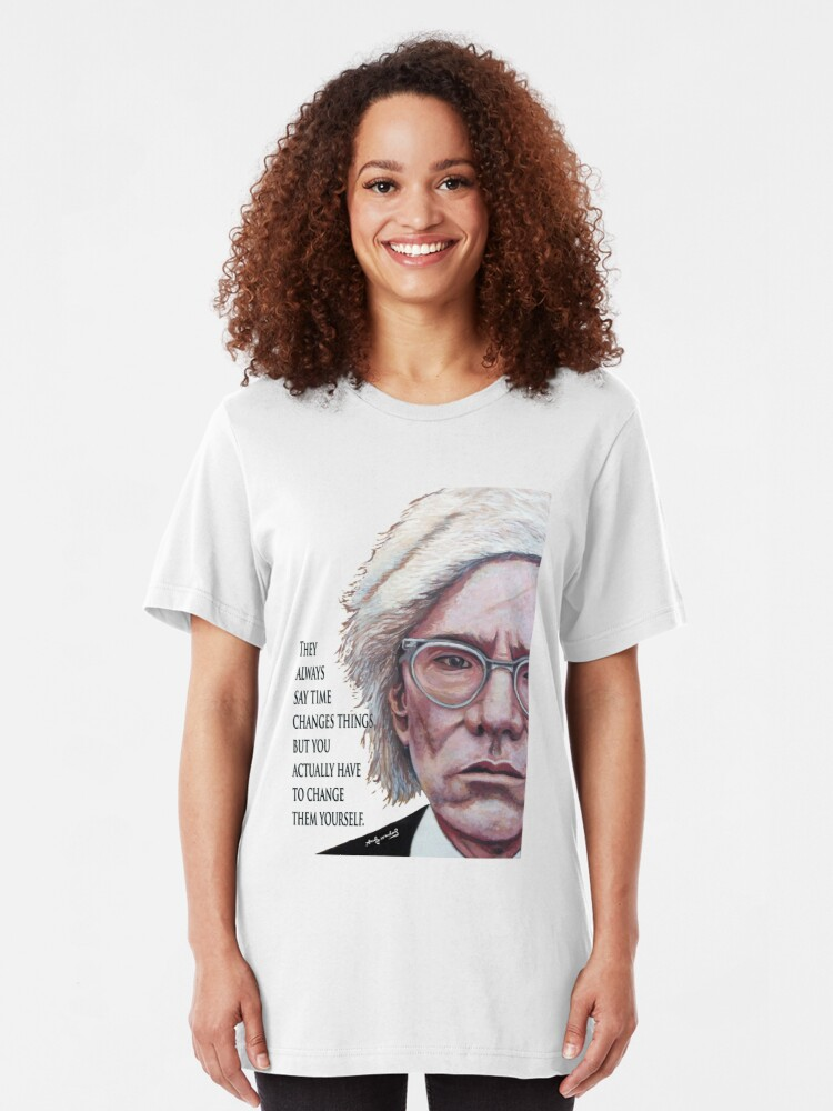 Alternate view of A. Warhol Slim Fit T-Shirt