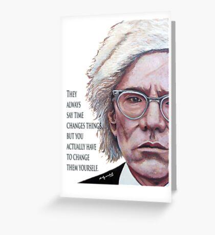 A. Warhol Greeting Card