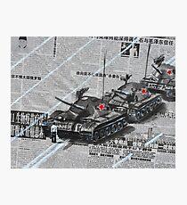 Tank Man of Tiananmen Photographic Print