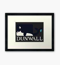 Dunwall poster Framed Print