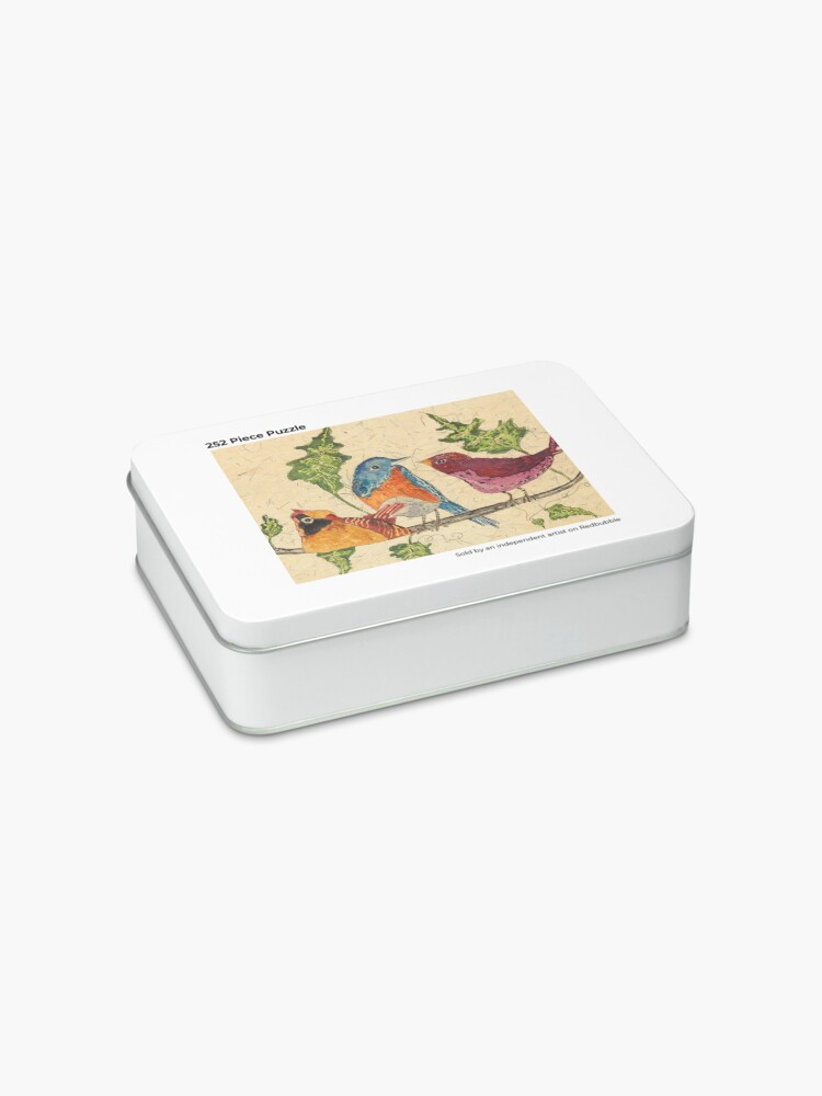 Alternate view of Morning Coffee Clutch Jigsaw Puzzle