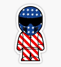 The Stig - American Stig Sticker
