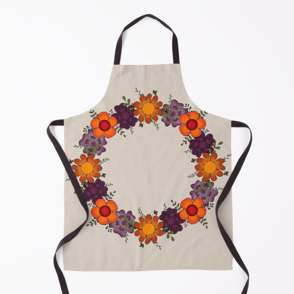 Autumn Wreath Apron