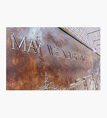 New York, World Trade Center, 9 11 memorial Photographic Print