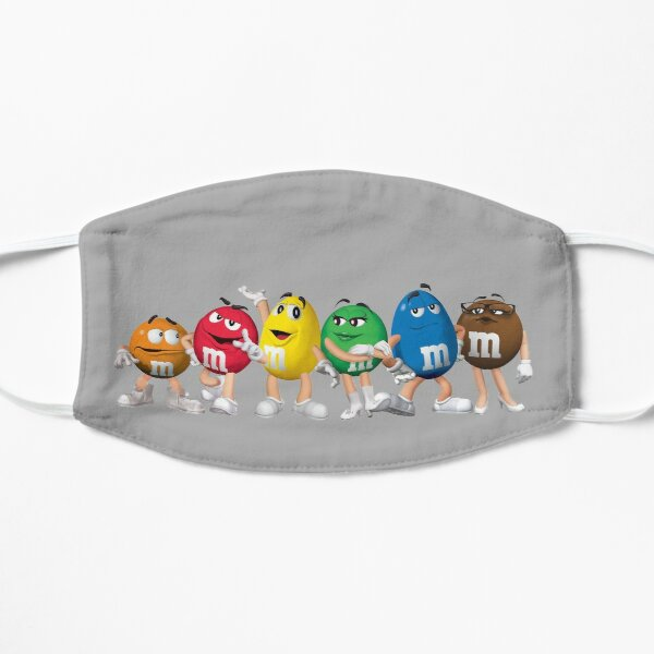 The M&M Gang Flat Mask