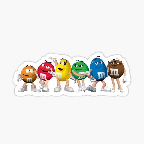 The M&M Gang Sticker