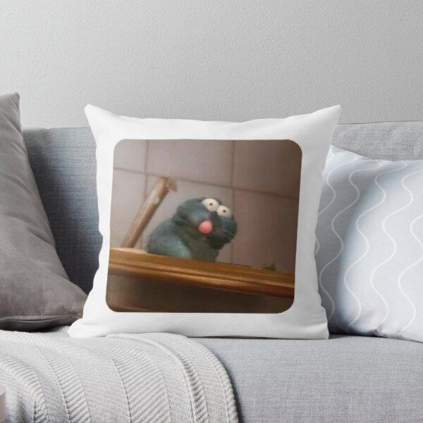 Ratatouille meme Throw Pillow