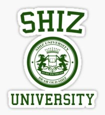 "Shiz University - Wicked ""Elphie"" Version Sticker"