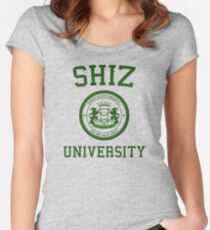 """Shiz University - Wicked """"Elphie"""" Version Women's Fitted Scoop T-Shirt"""