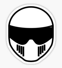 The Stig - Stig's Head Sticker