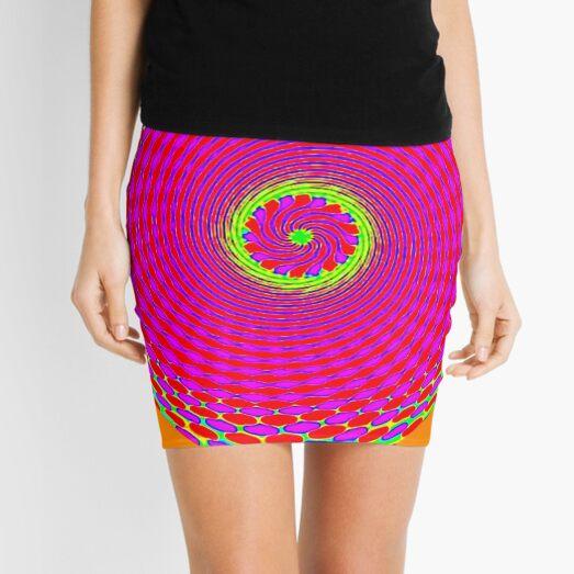 ORANGE SUNSHINE Mini Skirt