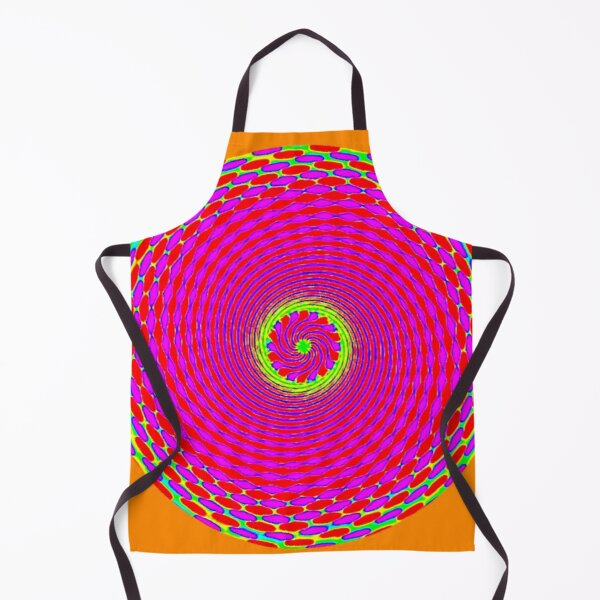 ORANGE SUNSHINE Apron