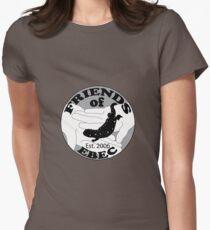Friends EBEC B&W Women's Fitted T-Shirt