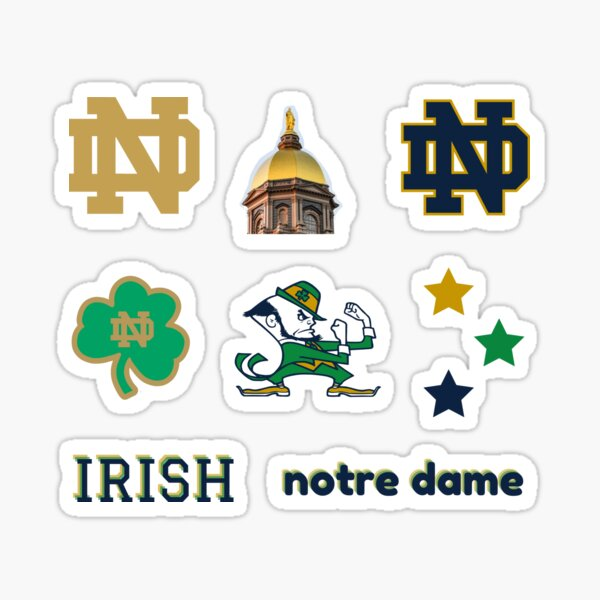 Notre Dame Sticker Pack Sticker