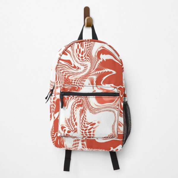 Abstract Bouquet of Coral Flowers  Backpack