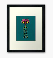 I is for Intergalactic Intelligence  Framed Print
