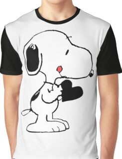 Snoopy's heart  Graphic T-Shirt