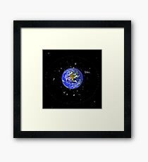 Space Junk the Final Frontier Framed Print