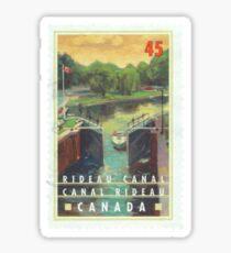 Rideau Canal Sticker