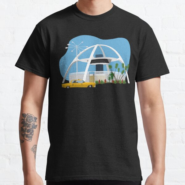LAX Theme Building Airport Googie  Classic T-Shirt